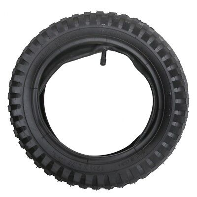 12.5 X 2.75 Pocket Bike Dirt Bike Knobbly Front Rear Tyre Tire + Inner Tube