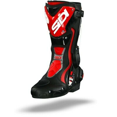 Sidi ST Black Red Sport Motorcycle Boots - Free Shipping