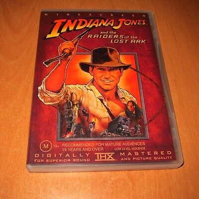 Indiana Jones And The Raiders Of The Lost Ark ( Dvd , Region 4 ) ~ Excellent