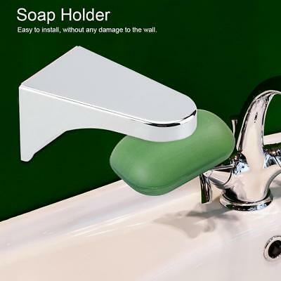 Stainless Magnetic Soap Holder Dispenser Kitchen Bathroom Adhesive Wall Rack