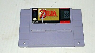 Authentic Super Nintendo SNES Game ~ The Legend of Zelda: A Link to the Past