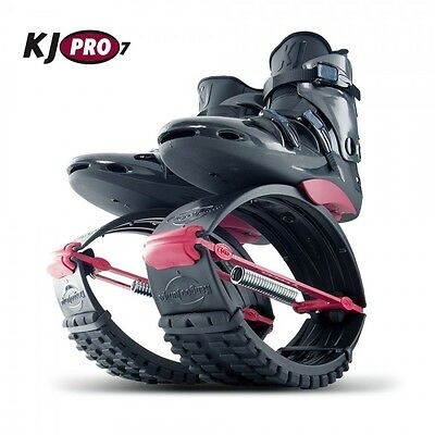 Org. Kangoo Jumps KJ PRO 7 (75 - 95 KG) Black/Red Größe M ( 39-41,5 )
