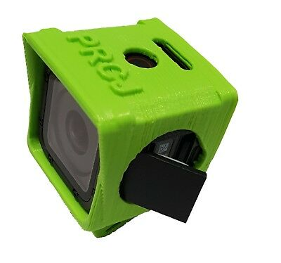 GoPro Session 5/4 quadcopter mount/case Flexible 3D printed Mid angle 30deg PRCJ