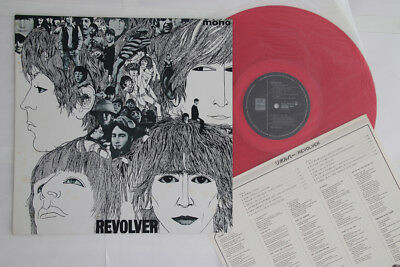 LP BEATLES Revolver EAS70136 ODEON JAPAN Vinyl