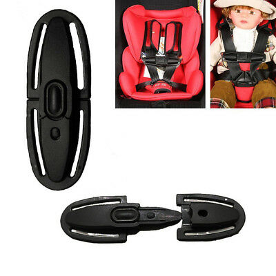 Baby Child Car Seat Safety Strap Belts Harness Chest Clip Kids Safe Lock Buckle+