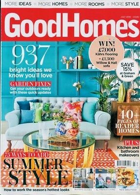 Good Homes Magazine July 2018 ~ New ~