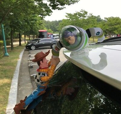 Toy Story LORDUPHOLD Sherif Woody and Buzz Car Doll Outside Hang Toy Cute Mu