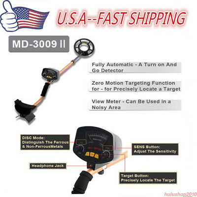 LCD display Underground Metal Detector Sensitivity High Pinpointing Gold Finder