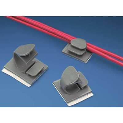 PANDUIT LWC50-A-L14 Wire Clip,Adhesive Backed,PK50