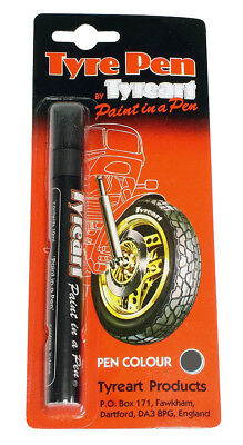 Oxford Motorcycle Motorbike Liquid Tyre Art Paint Marker Pen Grey TYPGY BC24623T