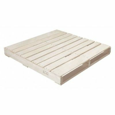 "PARTNERS BRAND CPW4242H New Wood Heat Treated Pallet,42x42"",Natural Wood,PK10"