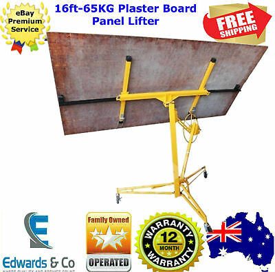 16ft Drywall Gyprock Panel Lifter Plaster Board Sheet Plasterboard Hoist