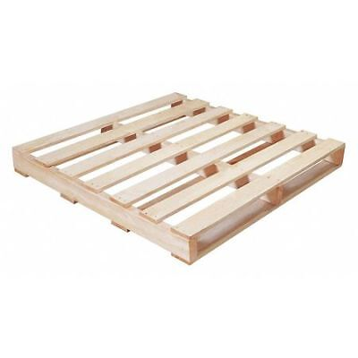 "PARTNERS BRAND CPW4242R #1 Recycled Wood Pallet,42x42"",Natural Wood,PK10"
