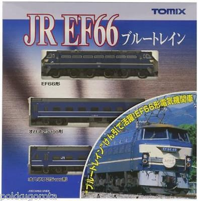 92332 EF66 Blue Train Set 3car TOMIX N scale