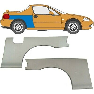 Honda Civic Crx Del Sol 92-98 Repair Panel Rear Wheel Arch Set Of 2, Pair