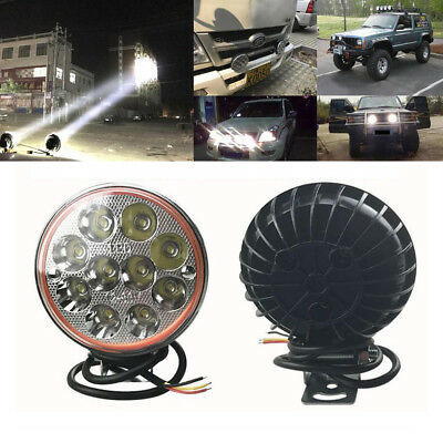 Super Bright 30W LED Motorcycle Car Fog Light Truck Offroad SUV Spot Work Lamp