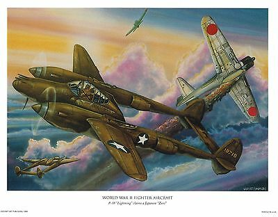 4 - WWII Fighter Plane Prints