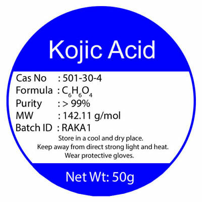 100% PURE KOJIC ACID POWDER 50g Buy2 Get3 Add To Any Cream For Skin Whitening