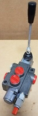 Brand New Single Spool Hydraulic Directional Control Valve / 10 Gpm Rating
