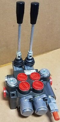 Brand New Two Spool Hydraulic Directional Control Valve / 10 Gpm Rating