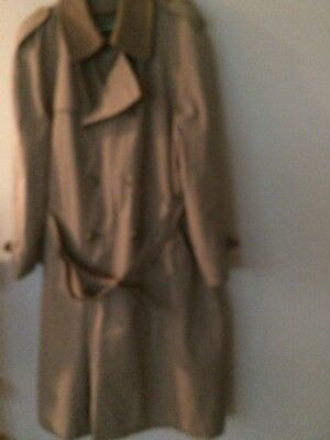 BROOKS BROTHERS DOUBLE BREASTED TRENCH COAT SZ 46L Beautiful Trench Coat