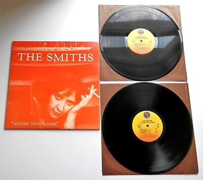 The Smiths - Louder Than Bombs USA 1987 Sire DBL LP with Inner Sleeves