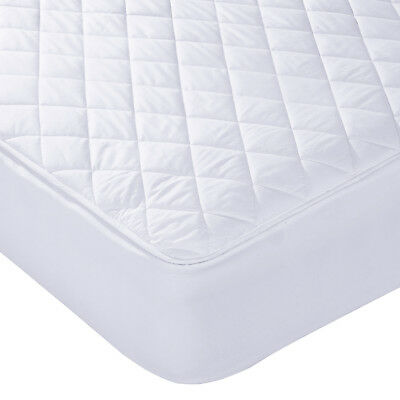 Luxury Super Soft Micro Percale Waterproof Quilted Mattress Protector Bed Cover