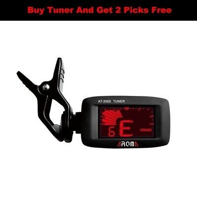 Aroma High Quality Clip On Universal Digital Tuner for Guitar,bass,instruments