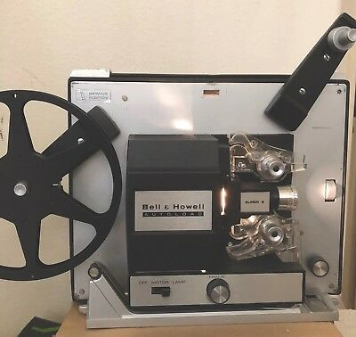 Vintage Bell & Howell Auto load Model 461A Super 8,8 mm Movie Projector Autoload