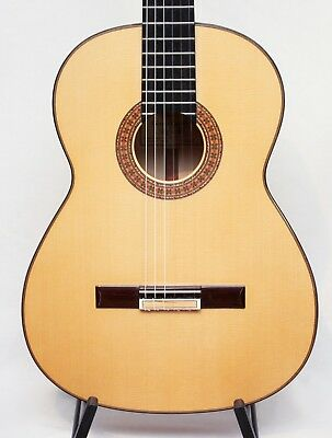 Vicente Carrillo Alegrias Blanca Professional Flamenco Spanish Guitar