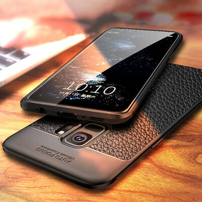 For Samsung Galaxy S4 S5 S6 S7 S8 S9 Shockproof Soft TPU Rubber Back Case Cover