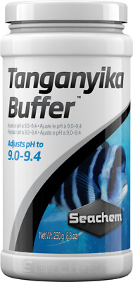Seachem Tanganyka Buffer 250 Grs Subir Valor Ideal Ph Peces Ciclidos Acuarios