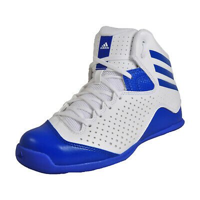 new styles 7f158 e9544 Adidas Next Level Speed 4 Mens Fitness Gym Court Basketball Trainers White  UK 6