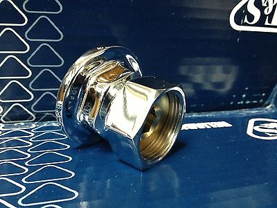 "NEW T&S Brass 00AA Union Coupling Inlets 1/2"" --  NOT INCLUDED Gaskets/Washers"