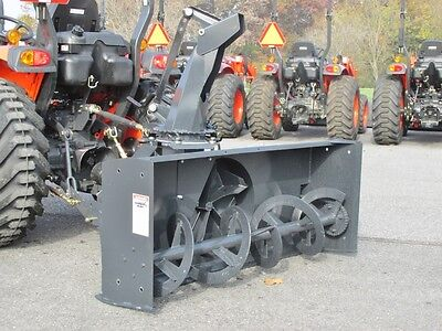 """New Mk Martin Meteor Snow Blower, 54"""",  Pto Drive, 3 Point Hitch, Manual Spout"""