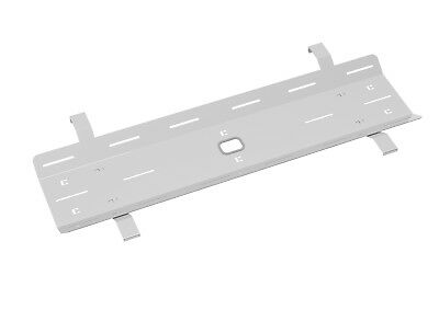 Double cable tray for Adapt and Fuze desks - 1600 - Silver