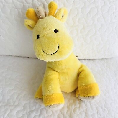 Carters Child Of Mine Yellow Giraffe White Spots Musical Lullaby Plush Baby Toy