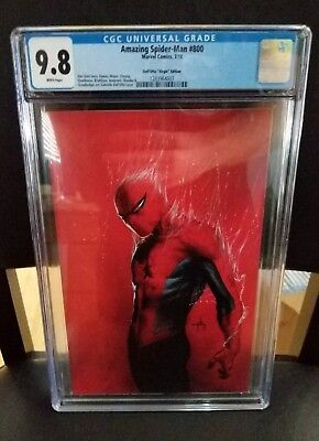 Amazing Spider-Man #800 CGC 9.8 1:200 Gabrielle Dell'Otto Virgin Variant Marvel