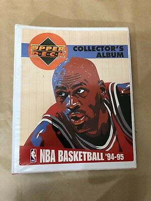 Lot de 210 Cartes card basket NBA Upper Deck 1994 /1995 Classeur complet(L5-114)