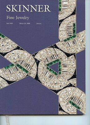 skinner auction catalog book guide fine antique jewelry art deco edwardian