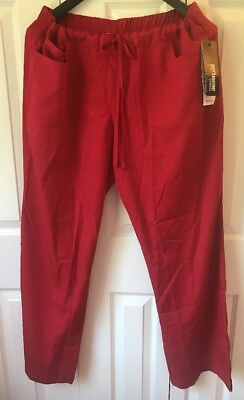 Greys Anatomy Women #4232 Five Pocket Drawstring Scrub Pant Elastic Back