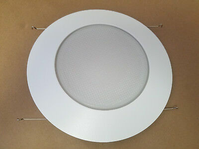 "6"" Inch Recessed Can Light Shower Trim Frosted Glass Albalite Lens"