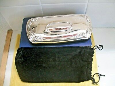 Glasses Case Sterling Silver Top Made In Italy
