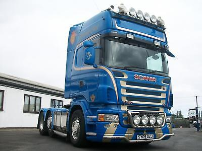 2009 Scania R620 V8 Topline Griffin Spec (Manual Gearbox) 6X2 Unit