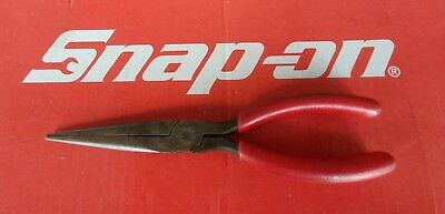 """Snap On Tools 8"""" Long Soft Grip Needle Nose Pliers 97CCP Free Shipping"""