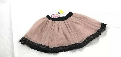 popatu lace up skirt rose 4T/4 NWT