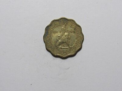 Old Paraguay Coin - 1953 15 Centimos - Circulated, corroded