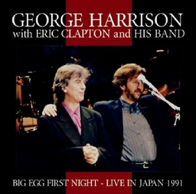 NEW GEORGE HARRISON with ERIC CLAPTON BIG EGG FIRST NIGHT LIVE IN JAPAN 1991##Hu