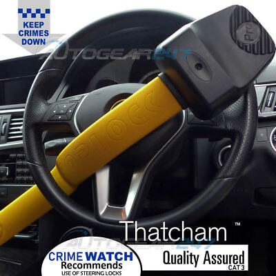 For Mercedes Benz Stoplock Pro Elite Thatcham Cat 3 Car 4x4 Steering Wheel Lock