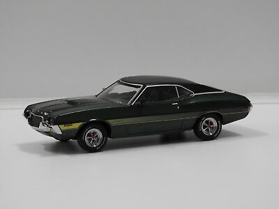 1:43 1972 Ford Gran Torino Sport (Green with Black Roof) Greenlight 86305